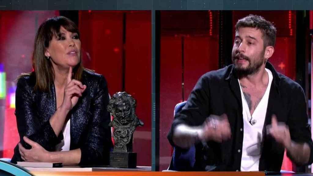 Mabel Lozano ha desmontado a Gallardo en 'Horizonte'.