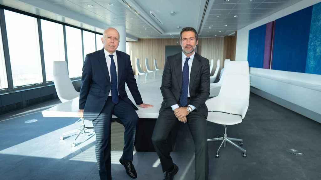 Hilario Albarracín, presidente de KPMG en España, y Juanjo Cano, consejero delegado y próximo presidente de la firma.