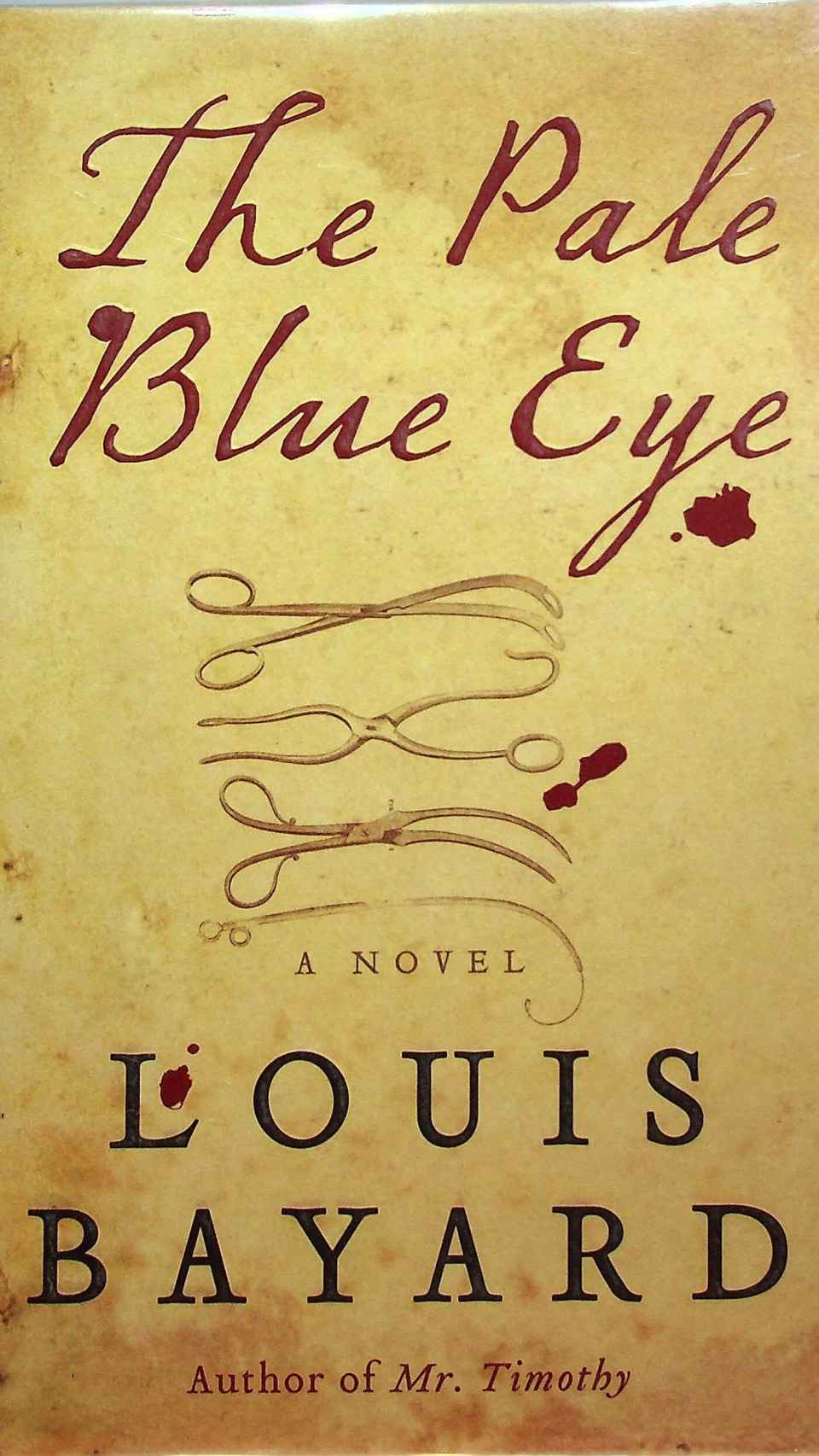 'The Pale Blue Eye', la novela que adaptará la película.