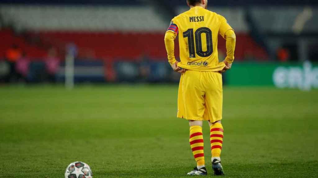 Leo Messi, en la Champions League 2020/2021