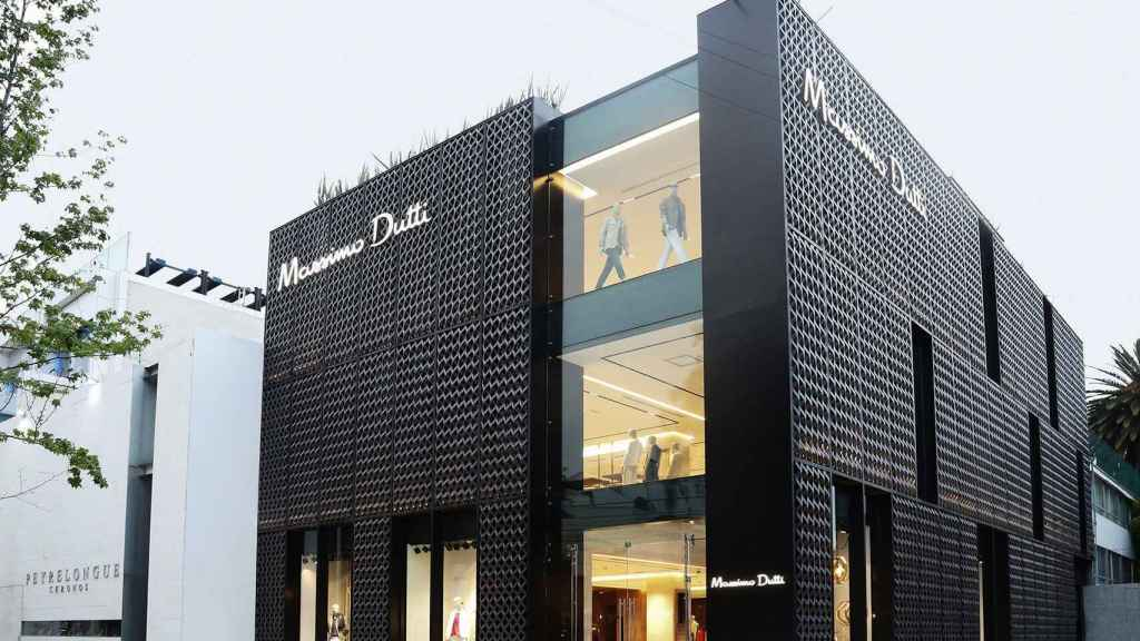 Un local comercial de Massimo Dutti.