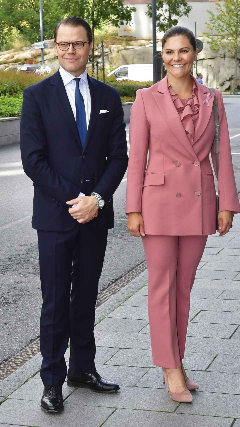 Daniel y Victoria de Suecia.