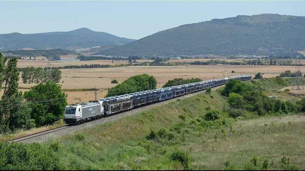 Imagen de un tren de Pecovasa.