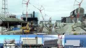 Imágenes recientes de la central de Fukushima Daiichi (Japón) y estado de las unidades 1, 2, 3 y 4.
