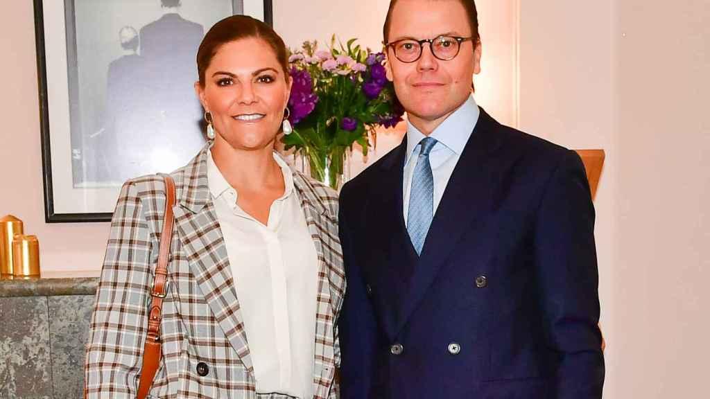 Victoria y Daniel de Suecia en septiembre de 2020.