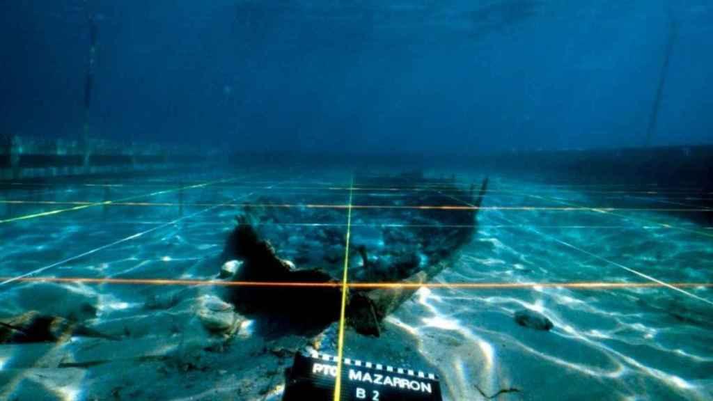 El barco 'Mazarrón II'.