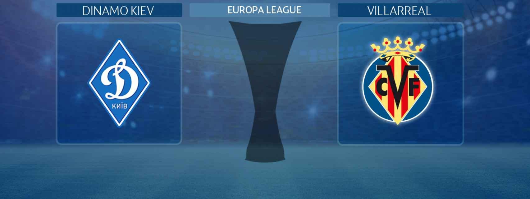 Dinamo Kiev - Villarreal, partido de la Europa League