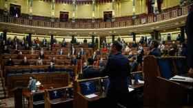 El Pleno guarda un minuto de silencio en recuerdo de las víctimas fallecidas en los atentados del 11 de marzo de 2004.