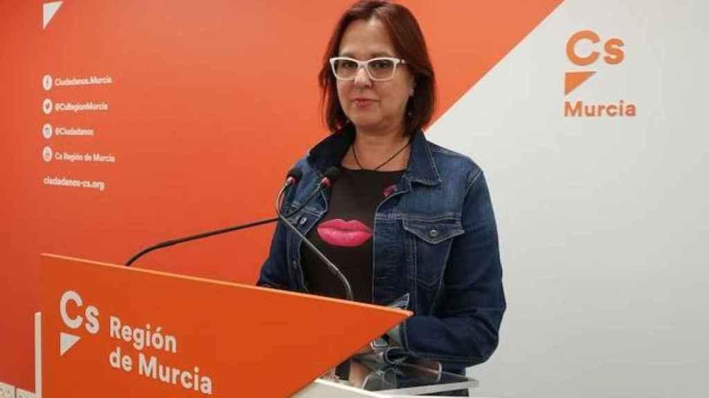 La vicepresidenta de Murcia, Isabel Franco, en una imagen de archivo.