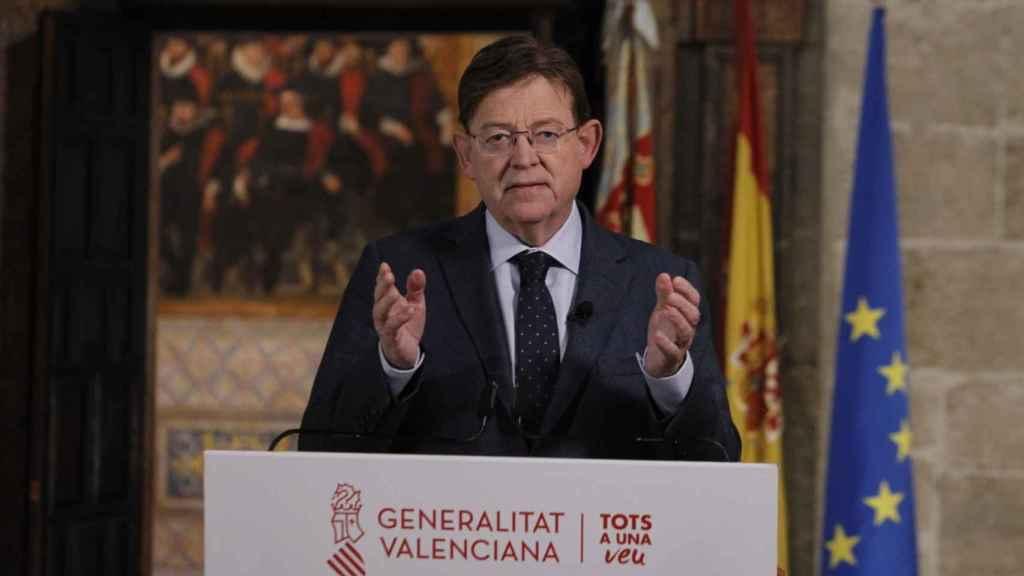 Ximo Puig, presidente de la Comunidad Valenciana. EE