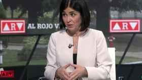 La ministra de Sanidad, Carolina Darias, este jueves en La Sexta.