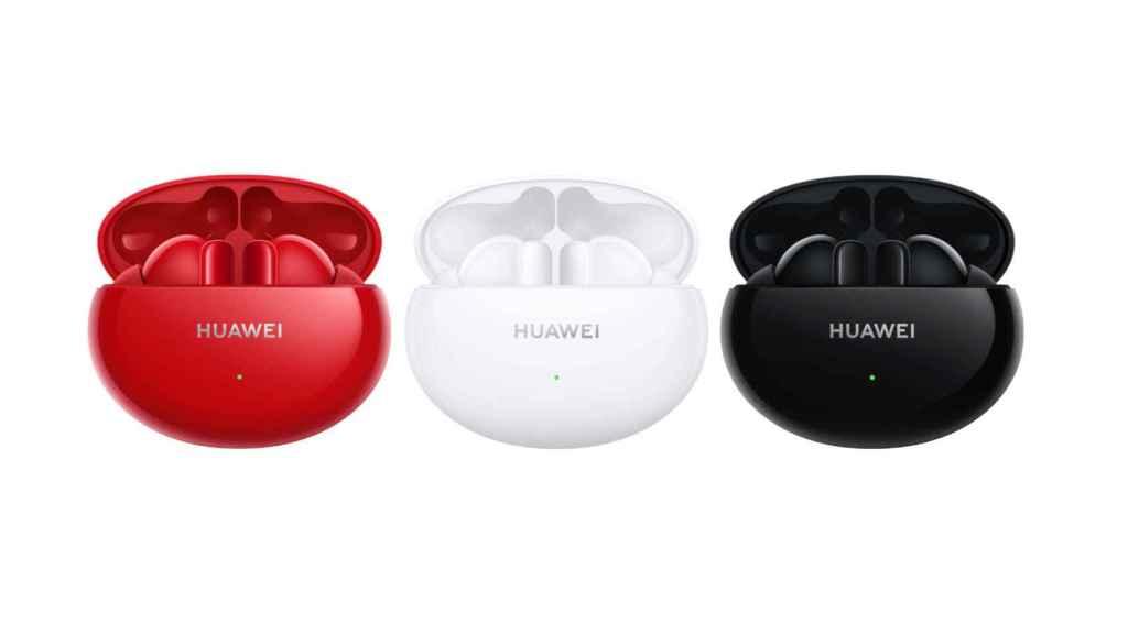 Los Huawei FreeBuds 4i estarán disponibles en tres colores