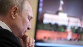 Vladimir Putin, presidente de Rusia, durante un encuentro
