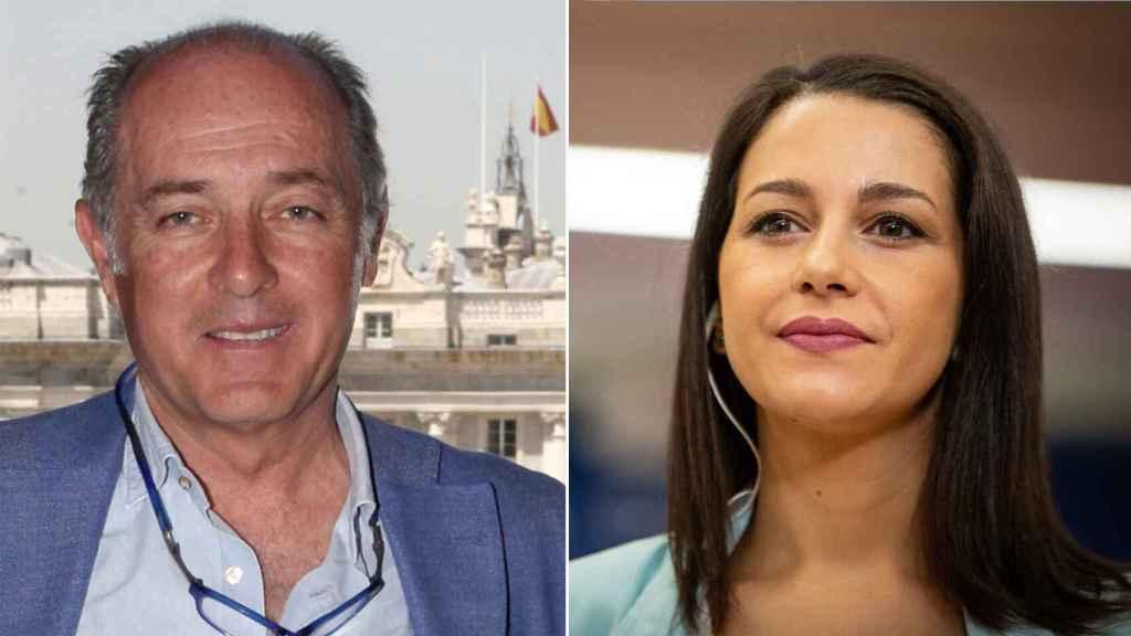 José Manuel Soto e Inés Arrimadas en un fotomontaje.