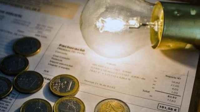 Imagen de una factura de la luz