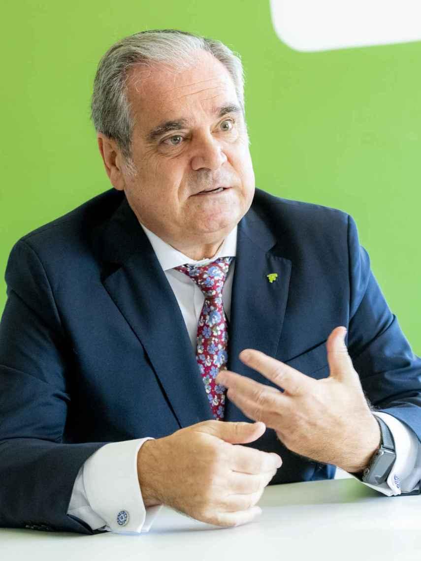 Jesús Aguilar, presidente del CGCOF.