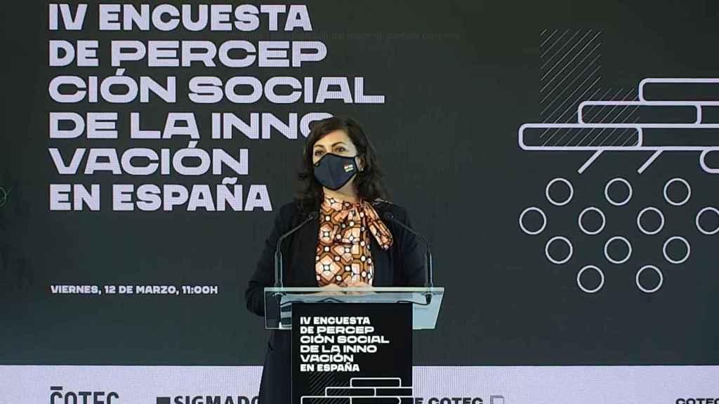 Concha Andreu, presidenta de La Rioja.