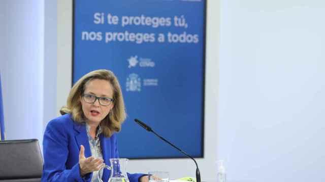 Nadia Calviño, vicepresidenta segunda y ministra de Economía.