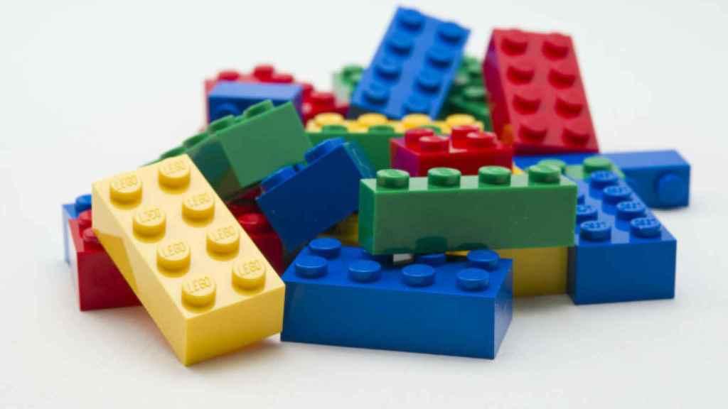 Piezas Lego.
