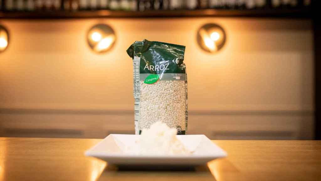 El arroz redondo de Carrefour.