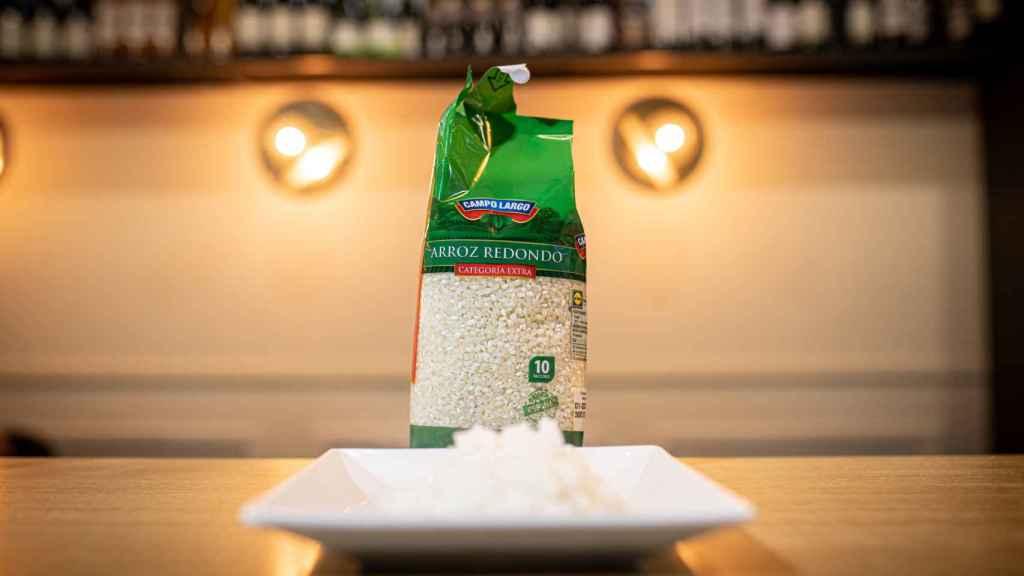 El arroz redondo de Campo Largo, la marca blanca de Lidl.