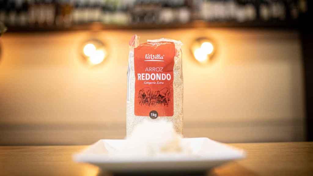 El arroz redondo de La Villa, la marca blanca de Aldi.