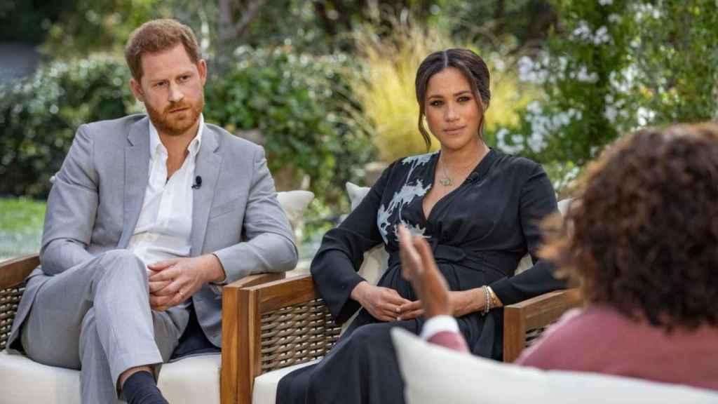 Antena 3 emite este sábado la entrevista de Meghan y Harry con Oprah Winfrey.
