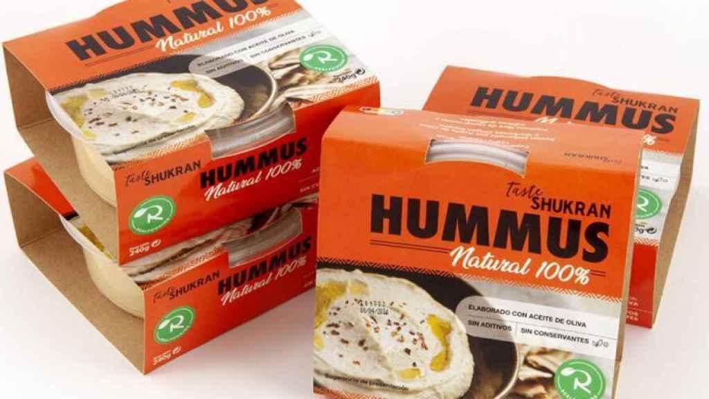El nuevo hummus Realfooding.