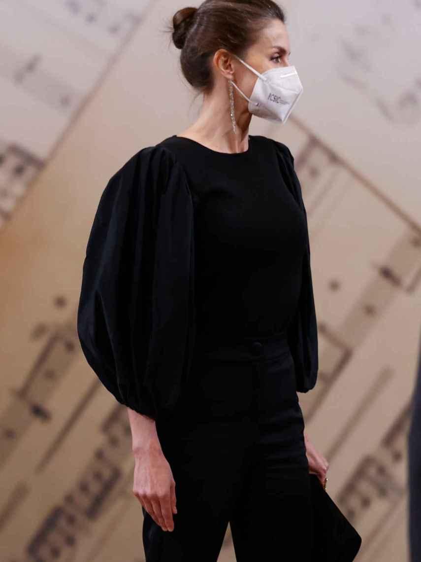 Letizia, en el concierto a las Víctimas del Terrorismo en Madrid.