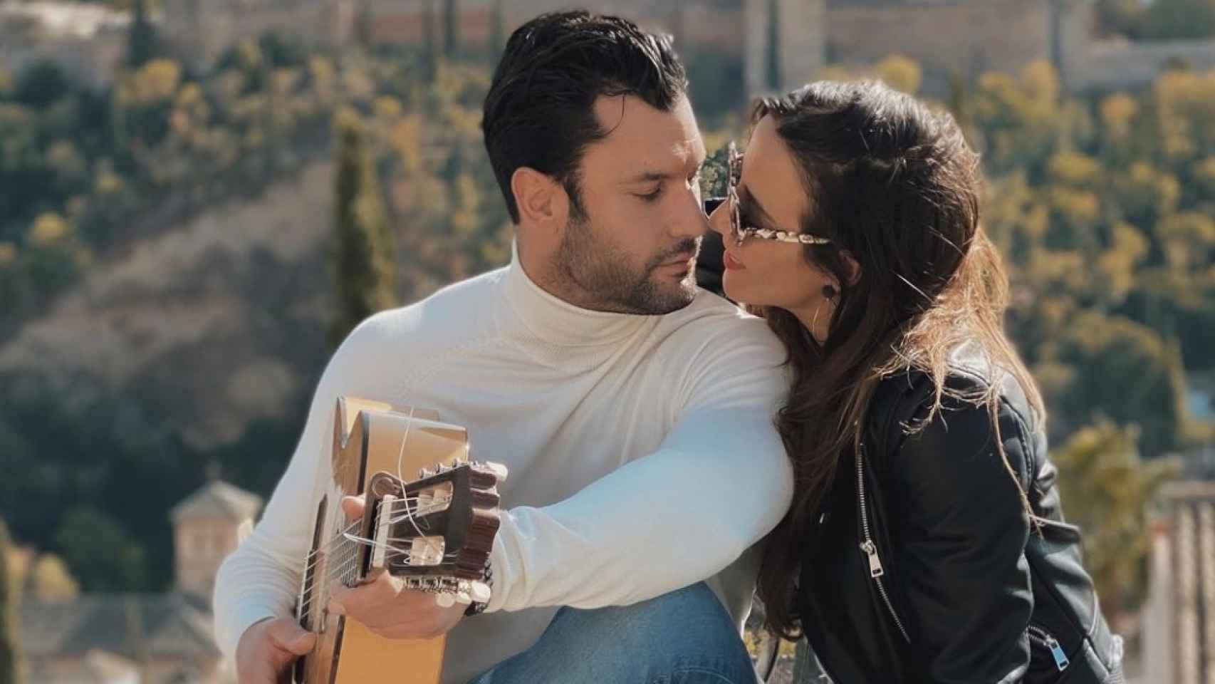 Jorge Pérez y Alicia Peña, en una imagen compartida en Instagram.