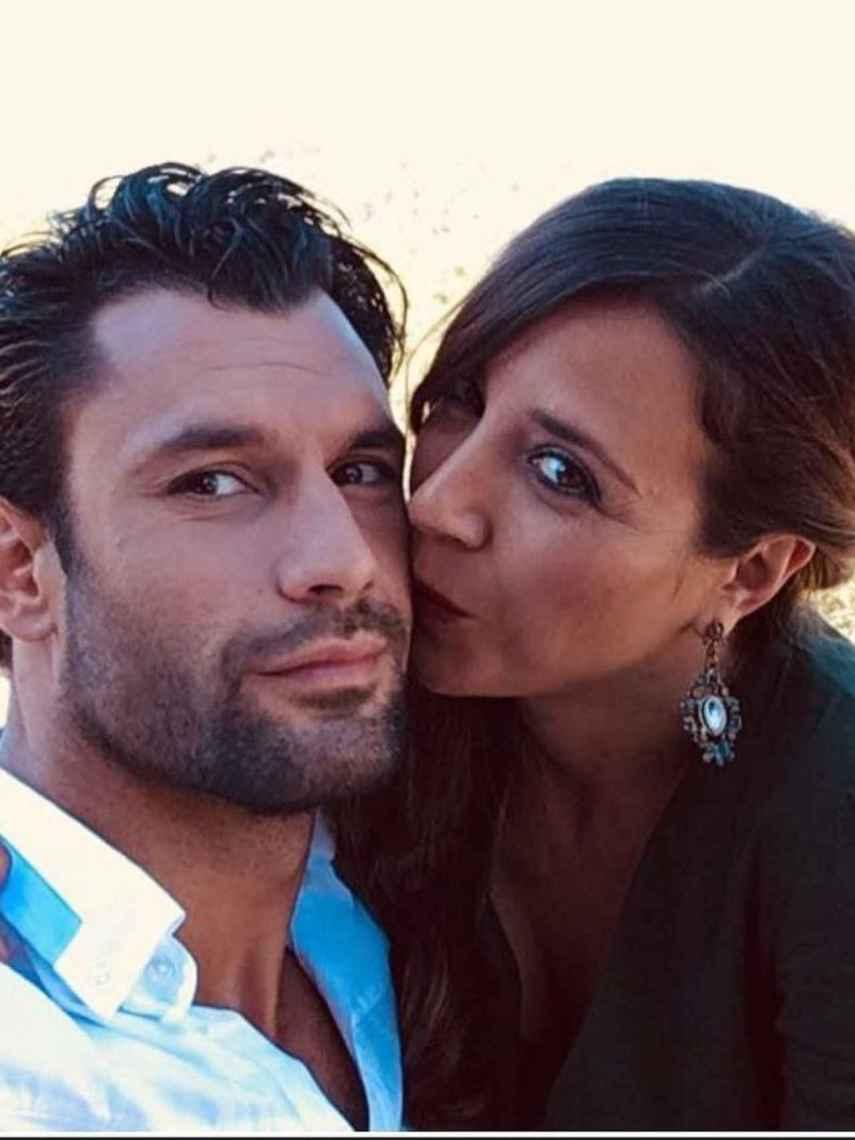 Jorge Pérez y Alicia Peña, en una imagen compartida en redes sociales.