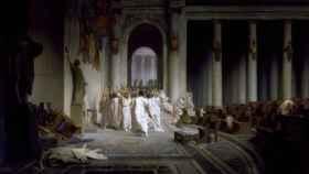 'La muerte de César', un cuadro de Jean-León Gerôme.