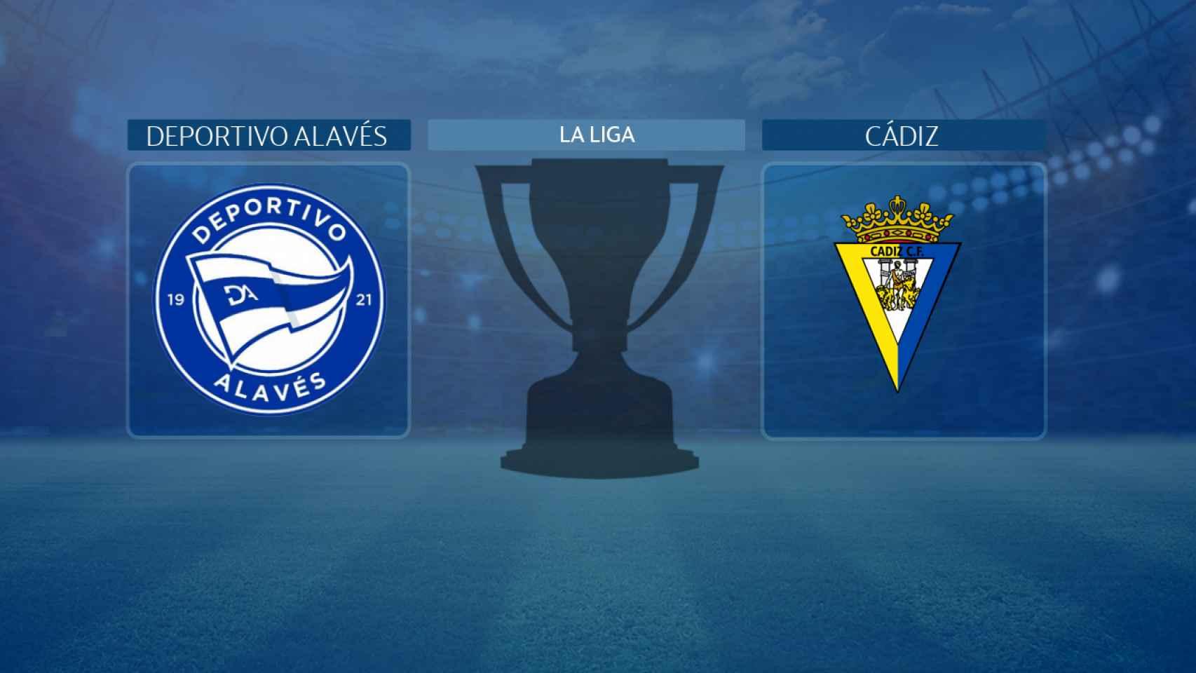 Deportivo Alavés - Cádiz, partido de La Liga