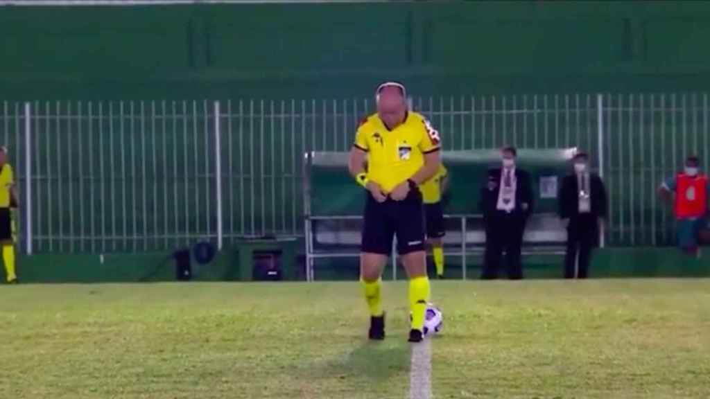 Denis Da Silva Ribeiro, el árbitro protagonista