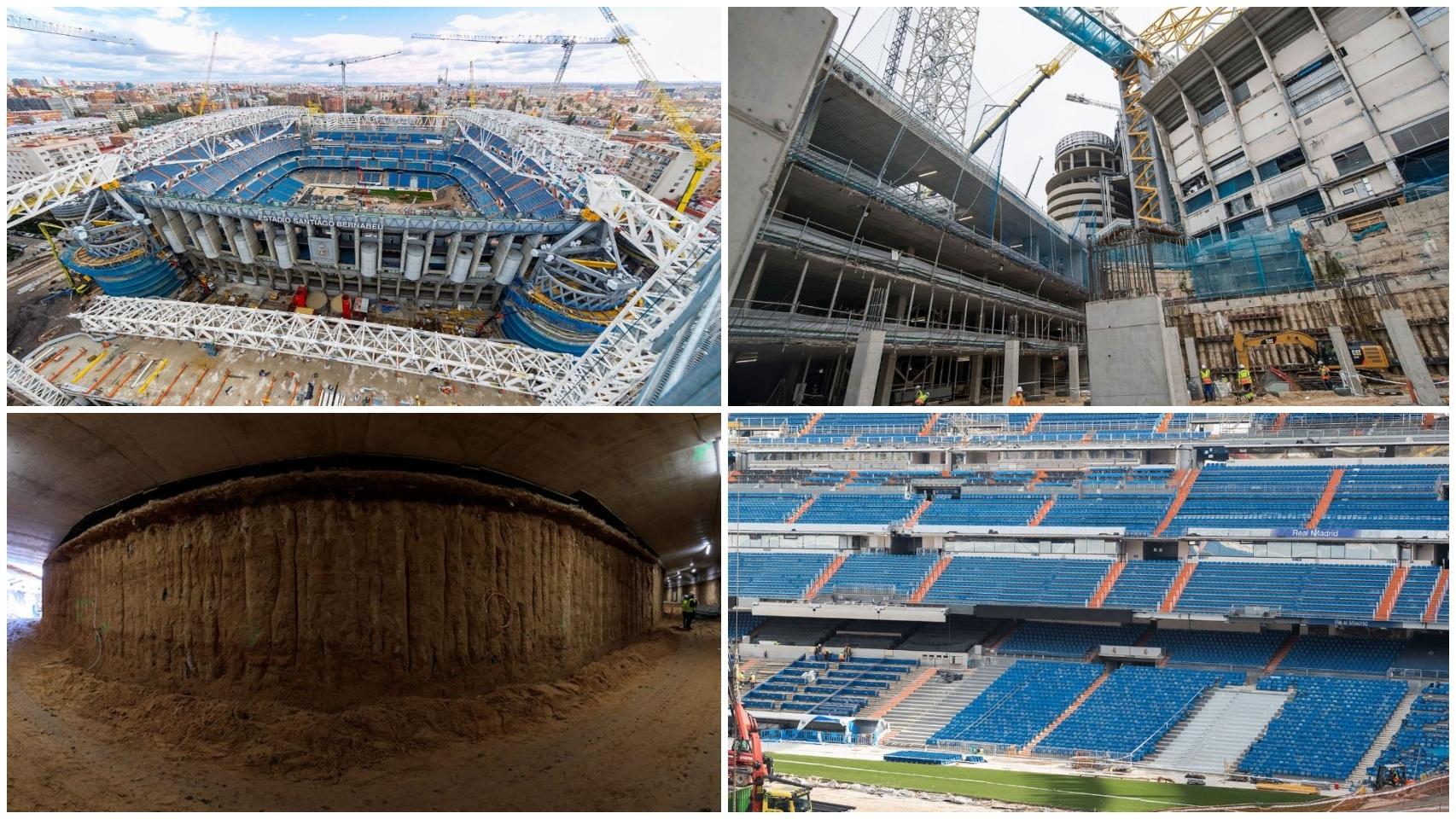 Las obras del Santiago Bernabéu, en imágenes