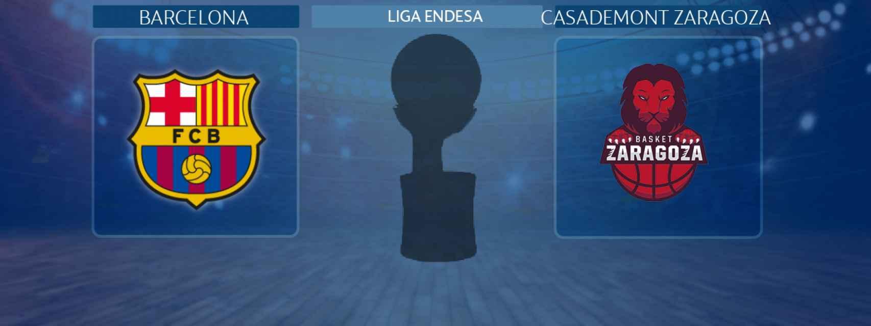 Barcelona - Casademont Zaragoza, partido de la Liga Endesa