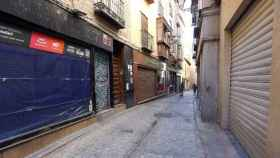 Comercios cerrados en el Casco Histórico de Toledo