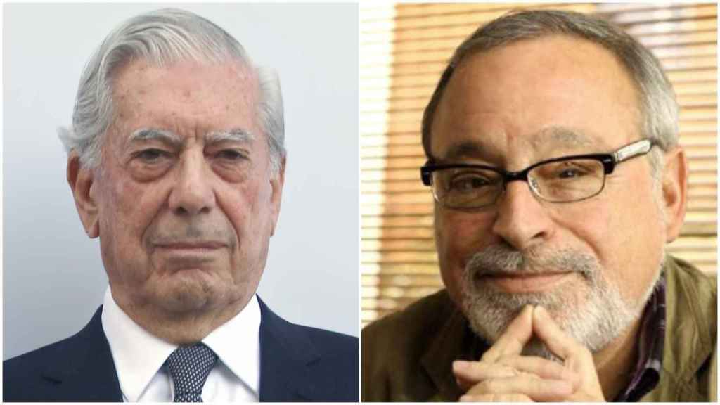 Mario Vargas Llosa y Fernando Savater.