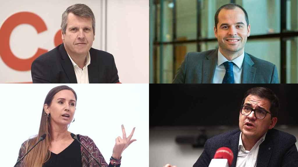 Carlos Cuadrado, Ignacio Aguado, Melisa Rodríguez y José María Espejo.