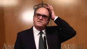 El candidato del PSOE en las elecciones madrileñas, Ángel Gabilondo, en una imagen de archivo.