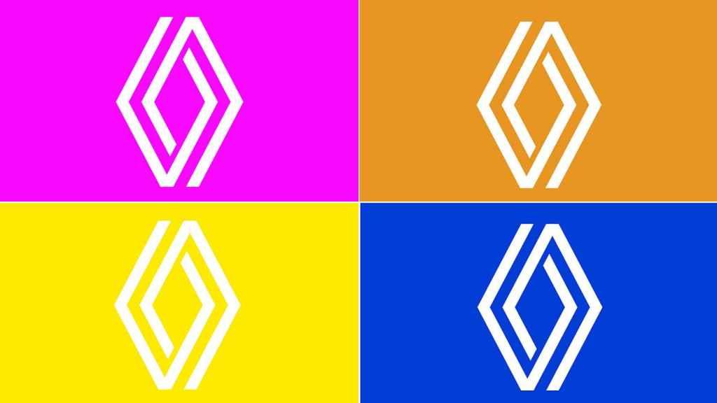 Nuevo logo de Renault.