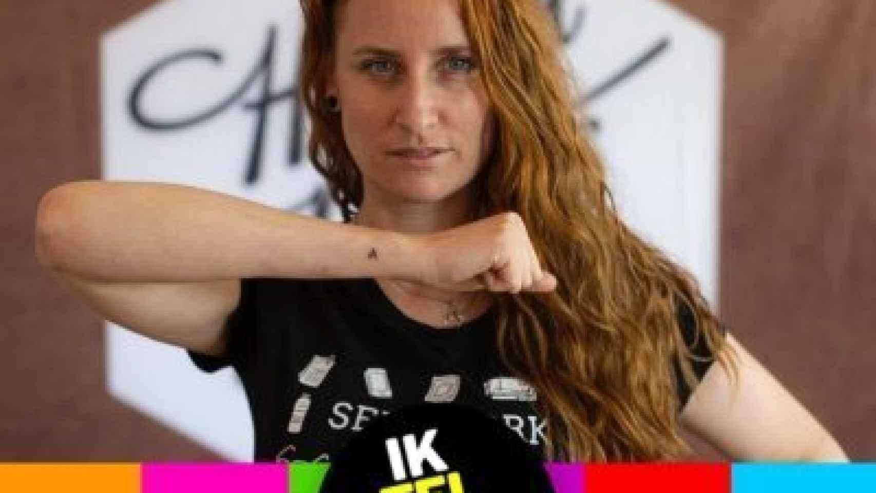 Yvette Luhrs, la prostituta que ser presenta a las elecciones en Holanda.