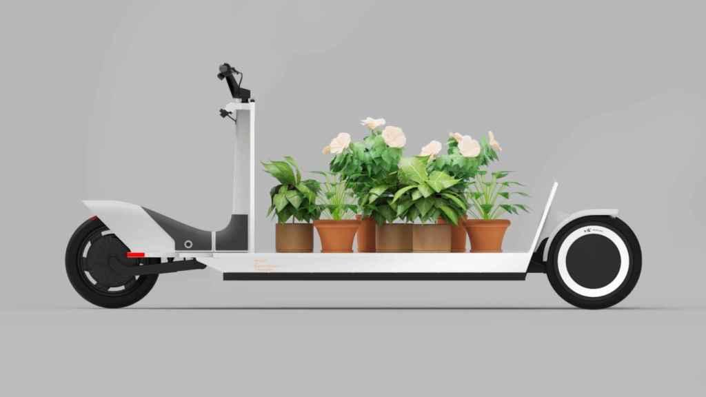 El Re: Move transportando plantas.