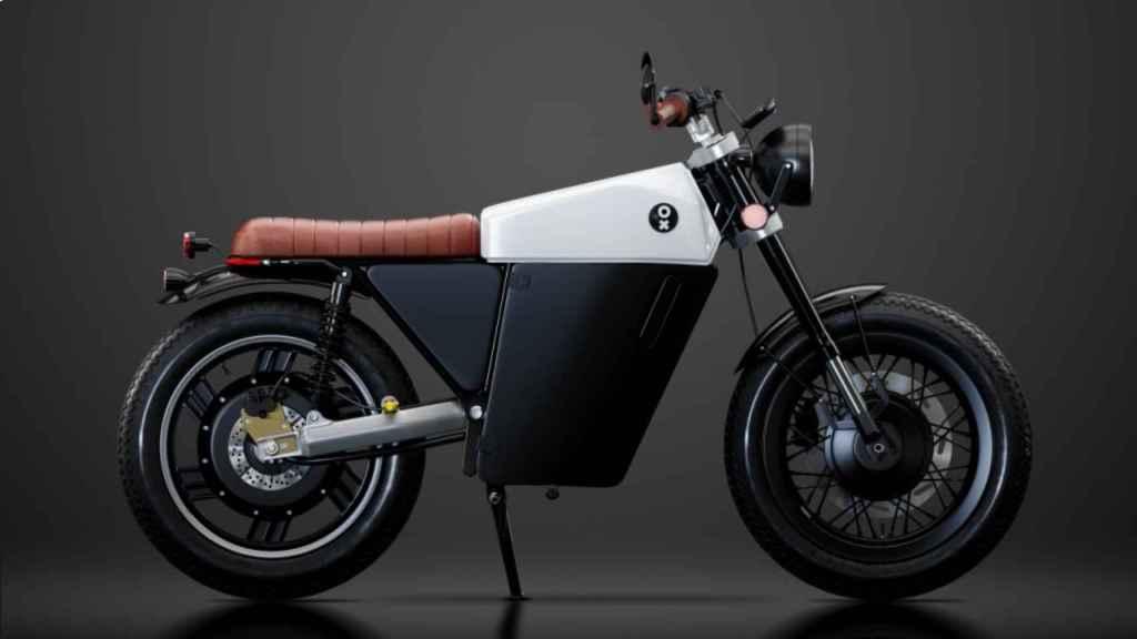 Así es el diseño de la moto eléctrico OX One.