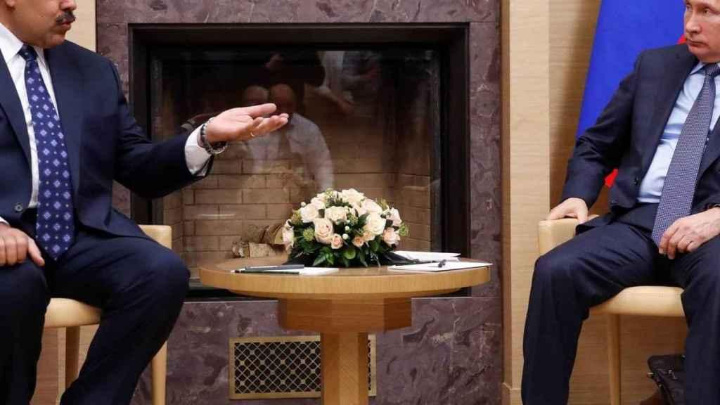 Nicolás Maduro y Vladímir Putin.