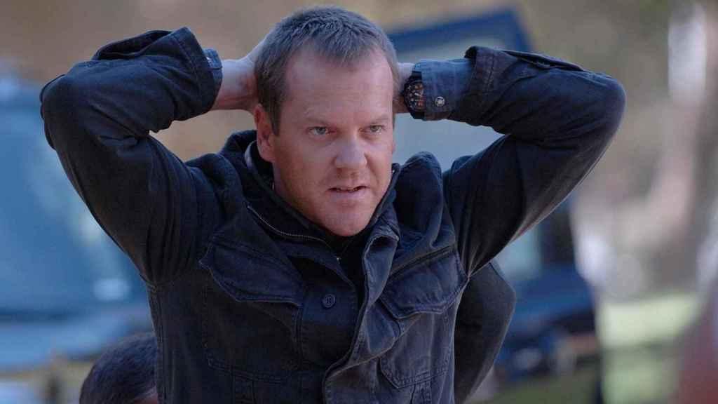 Kiefer Sutherland es Jack Bauer.