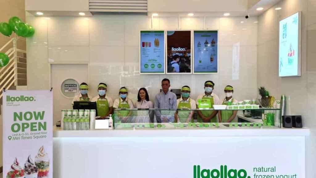 Una de las últimas yogurterías inauguradas en Malasia.
