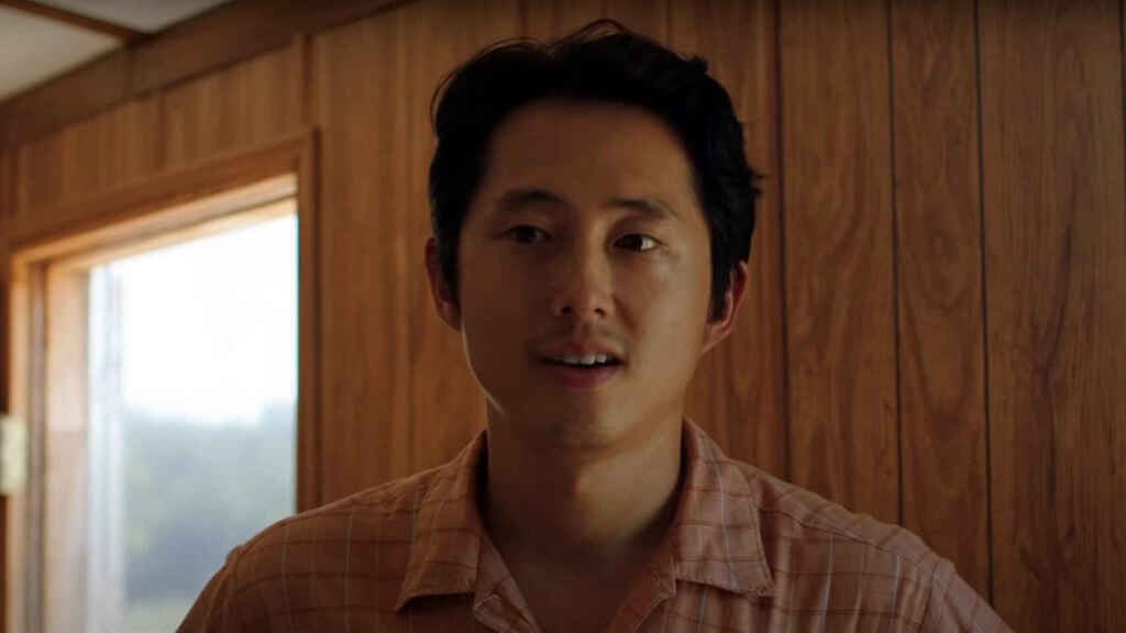 Steven Yeun en 'Minari'.