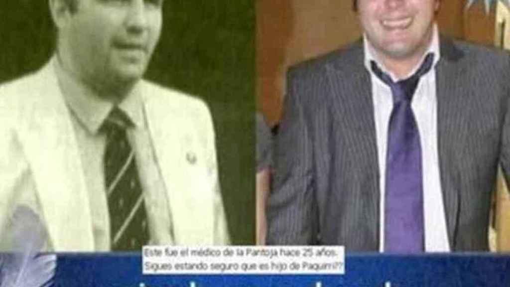 Una comparativa entre Cariñanos y Kiko Rivera que Telecinco ofreció hace algunos años.