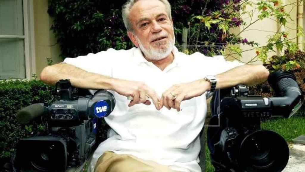 El director de fotografía Fernando Arribas.